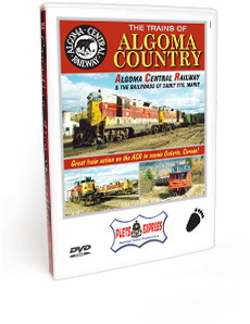 The Trains of Algoma Country DVD Video