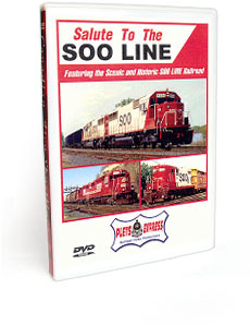 Salute to the Soo Line DVD Video
