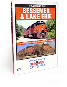 Trains of the Bessemer and Lake Erie DVD Video