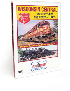 Wisconsin Central <br/> Volume 3 - 'The Central Lines' DVD Video