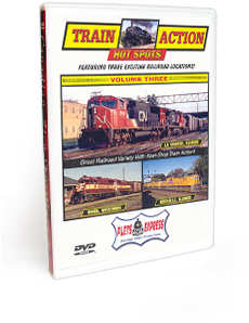Train Action Hot Spots <br/> Volume 3 DVD Video