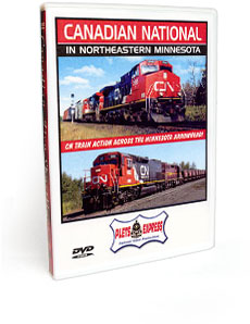 Canadian National In Northeastern Minnesota DVD Video