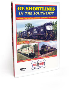 GE Shortlines in the Southeast DVD Video