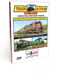 Train Action Hot Spots <br/> Volume 5 DVD Video