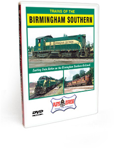 Trains of the Birmingham Southern DVD Video