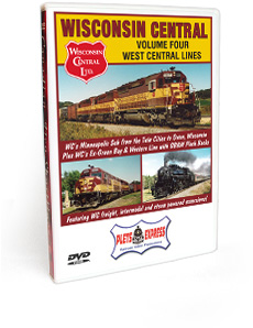 Wisconsin Central <br/> Volume 4 - 'West Central Lines' DVD Video