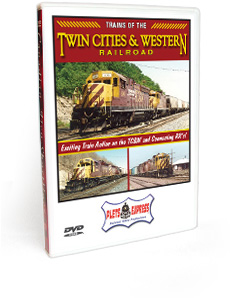 Trains of the Twin Cities & Western Railroad DVD Video
