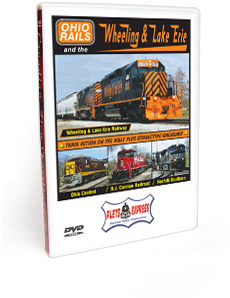 Ohio Rails and the Wheeling & Lake Erie DVD Video