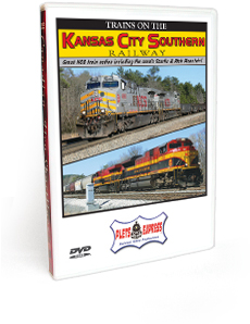 Trains On The Kansas City Southern Railway DVD Video