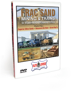 Frac Sand Mining & Trains in Wisconsin's Chippewa Valley DVD Video